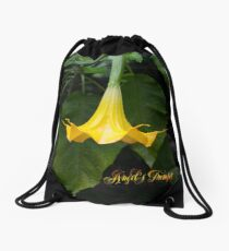 Angel's Trumpet Drawstring Bag
