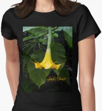 Angel's Trumpet Women's Fitted T-Shirt