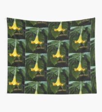 Angel's Trumpet Wall Tapestry