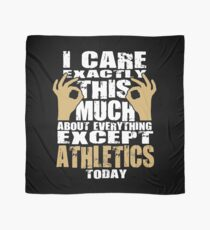 Athletics Lover Caring Funny Quote  Scarf