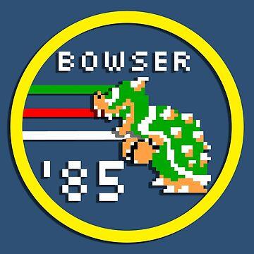 Bowser '85 by EchoSoloArt