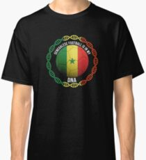Senegalese Football Is In My DNA - Gift For Passionate Senegalese Football Soccer Fan Who Loves Or Supports The Nation of Senegal Classic T-Shirt