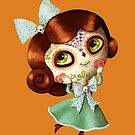 The Day of The Dead Vintage Doll by colonelle