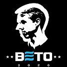 Beto O'Rourke for President 2020 Blue E by Corpus080