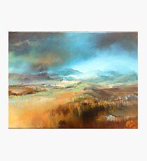 Gathering Storm (Scottish Borders) Photographic Print