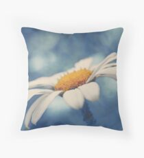 Hazy Daisy Throw Pillow