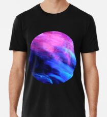 Blue and Purple Streaks Men's Premium T-Shirt