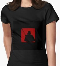 Shadow - Dark Side Womens Fitted T-Shirt