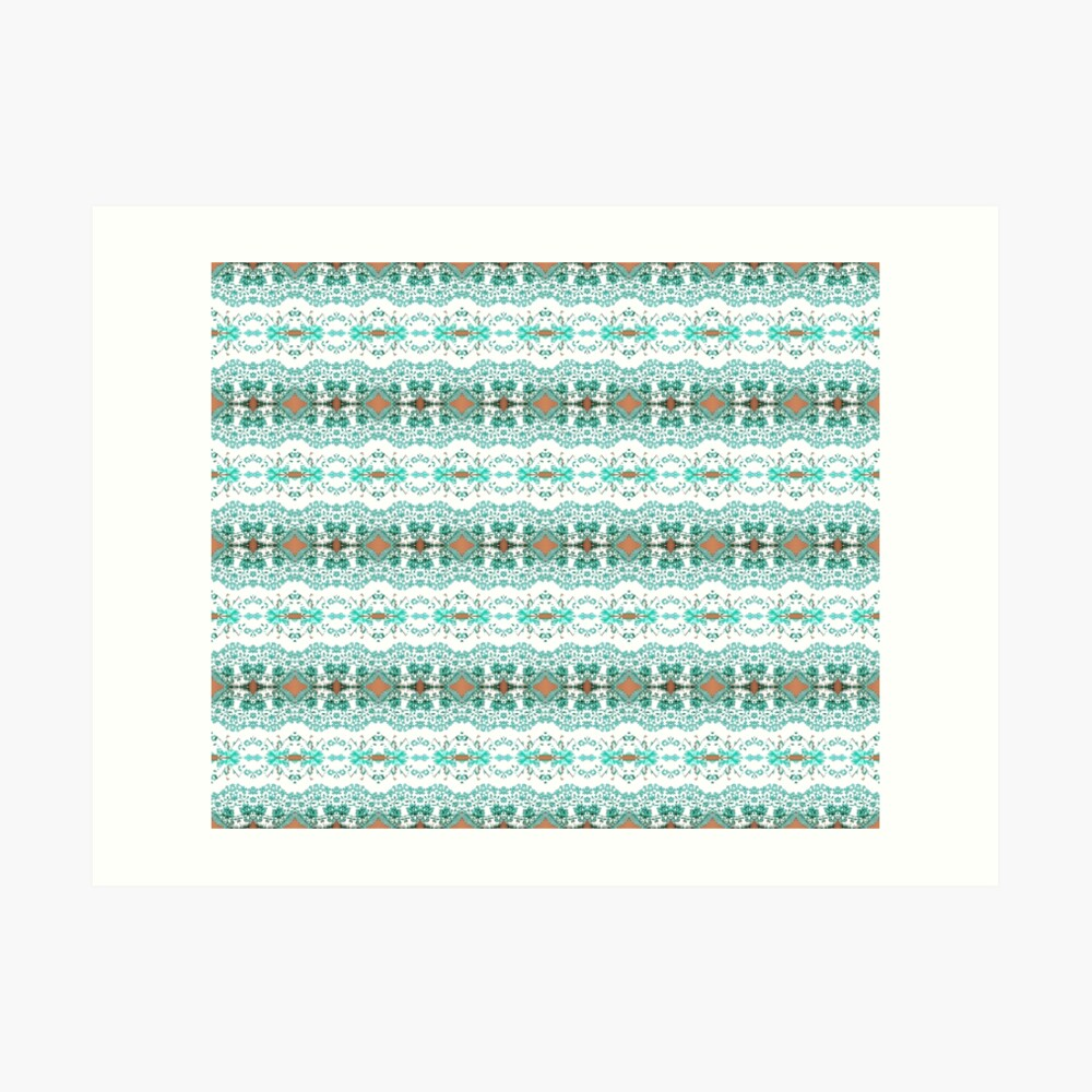textile, pattern, abstract, decoration, design, illustration, repetition, art, wool, fashion Art Print