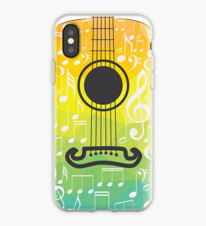 Polygonale Gitarre iPhone-Hülle & Cover