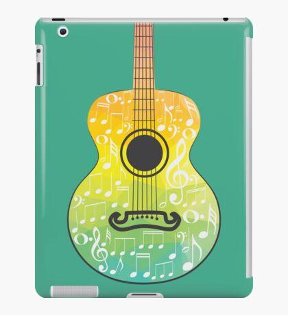 Polygonale Gitarre iPad-Hülle & Klebefolie