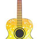 Polygonale Gitarre von AnnArtshock