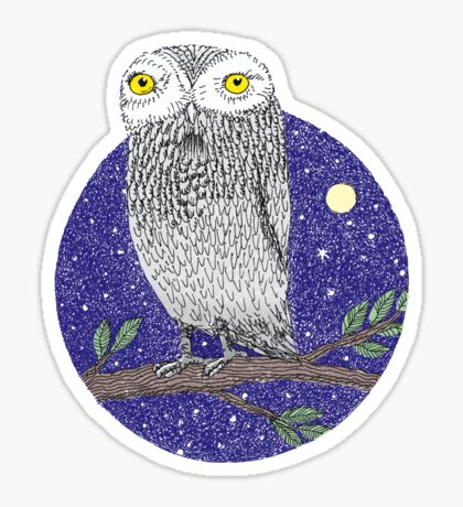 Night Owl Sticker