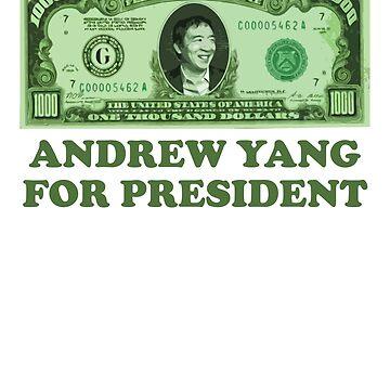 Thousand Dollar Bill Yang 2020 by hadicazvysavaca