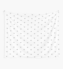 Replication (white) Wall Tapestry