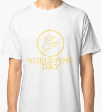 9th October - World Post Day Classic T-Shirt