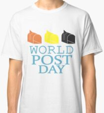 World Post Day Classic T-Shirt
