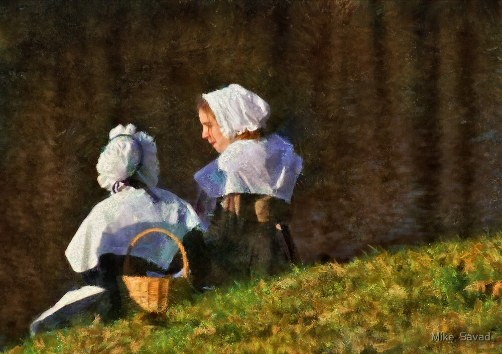 People - The young maidens by Michael Savad