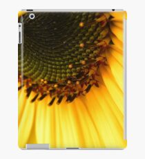 Sunflower macro iPad Case/Skin