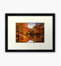 Autumn - In a dream I had Framed Print