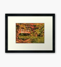 Bridge - Asian Delight Framed Print