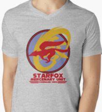 Mercenary Unit - Starfox Men's V-Neck T-Shirt