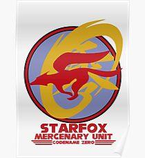Mercenary Unit - Starfox Poster