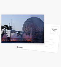 Epcot Postcards