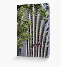 Houston Skyscraper Greeting Card