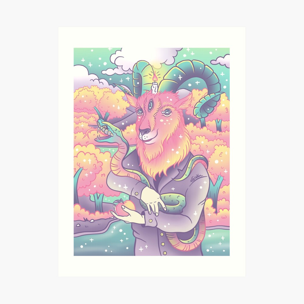 Live Deliciously! Art Print