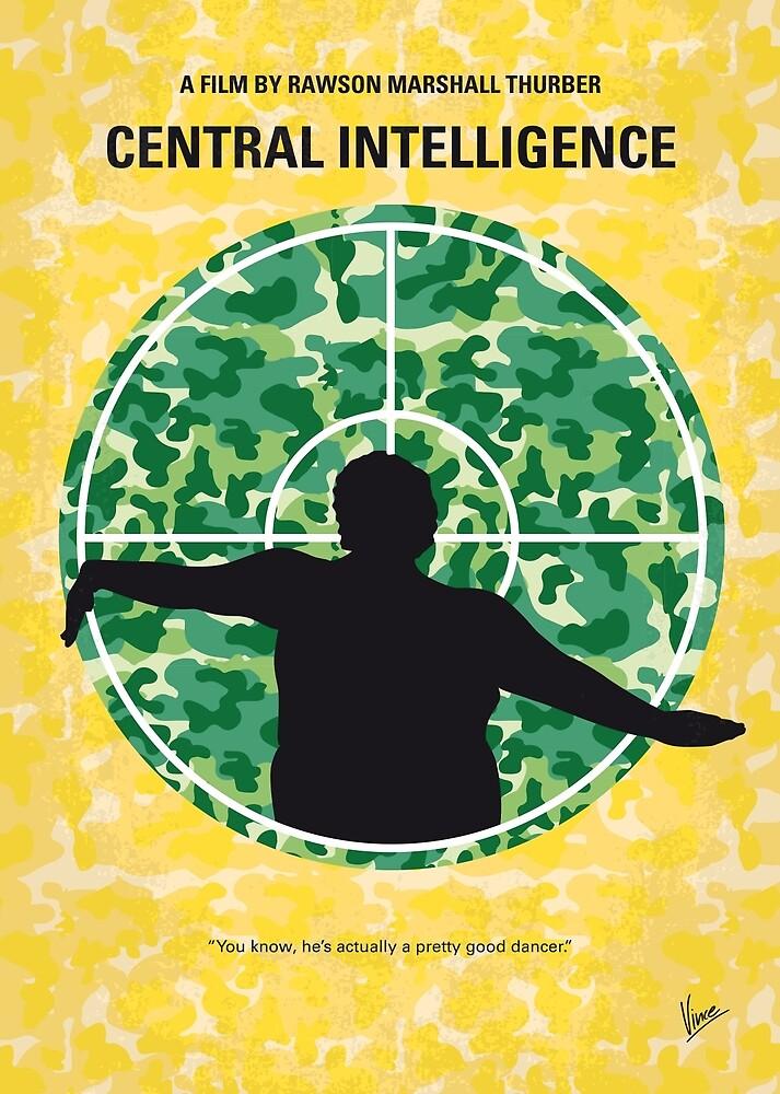 No1049 Mein zentrales Filmplakat der Intelligenz von ChungKong Art