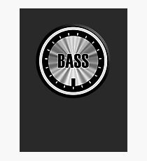 Bass Knob Photographic Print