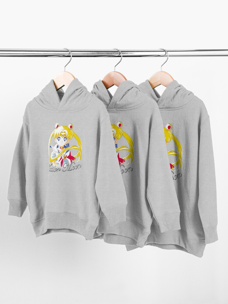 Alternate view of Sailor Moon S Toddler Pullover Hoodie
