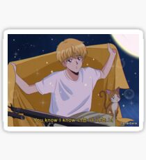 BTS JIMIN - Serendipity 90's anime Sticker