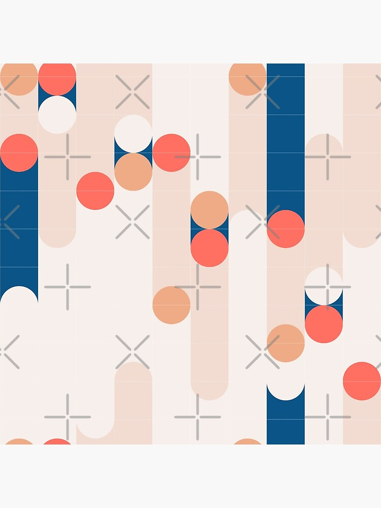 The Sound Of Tiles #redbubble #pattern by designdn