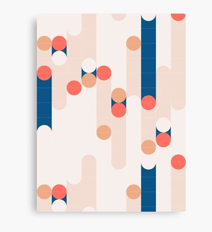 The Sound Of Tiles #redbubble #pattern Canvas Print