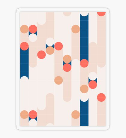 The Sound Of Tiles #redbubble #pattern Transparent Sticker