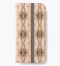 brown, beige, symmetry, abstract, design, pattern, art, decoration, wicker, vertical, textured, in a row, seamless pattern, textile, backgrounds iPhone Wallet/Case/Skin