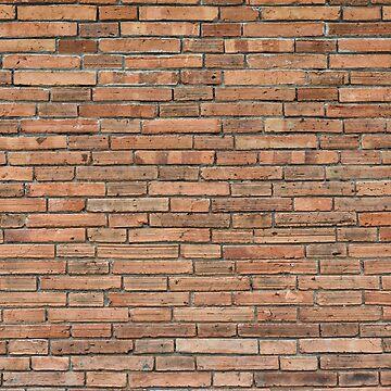 Red Brick Wall Backdrop by ShirtPro
