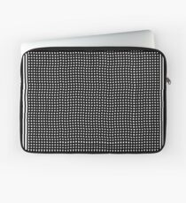 pattern, design, abstract, fiber, weaving, cotton, gray, textile, old, luxury, net Laptop Sleeve