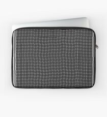 pattern, design, abstract, fiber, weaving, cotton, gray, textile, old, luxury, net, horizontal, textured, backgrounds, covering, old-fashioned, retro style, upper class Laptop Sleeve