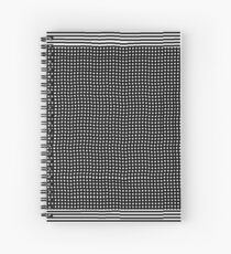 pattern, design, abstract, fiber, weaving, cotton, gray, textile, old, luxury, net, horizontal, textured, backgrounds, covering, old-fashioned, retro style, upper class Spiral Notebook