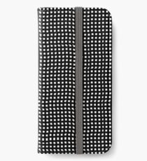 pattern, design, abstract, fiber, weaving, cotton, gray, textile, old, luxury, net, horizontal, textured, backgrounds, covering, old-fashioned, retro style, upper class iPhone Wallet/Case/Skin