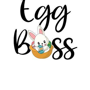 Easter Basket Rabit Egg Champion Bunny Easter Egg Boss  by allsortsmarket