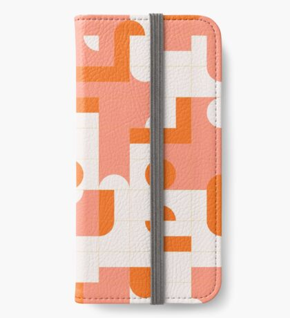 Puzzle Tiles #redbubble #pattern iPhone Wallet