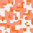 Puzzle Tiles #redbubble #pattern by designdn