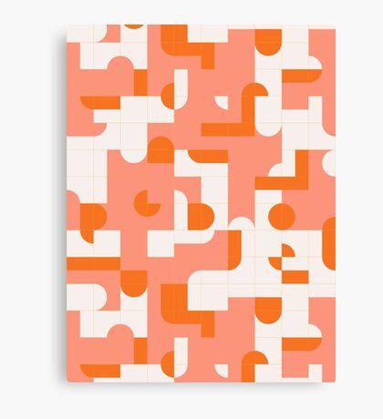 Puzzle Tiles #redbubble #pattern Canvas Print