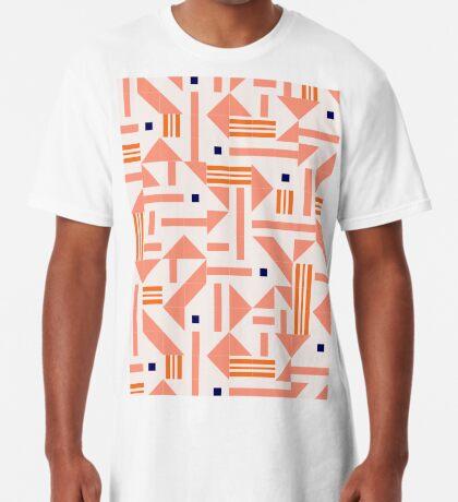 Random Tiles #redbubble #pattern Long T-Shirt