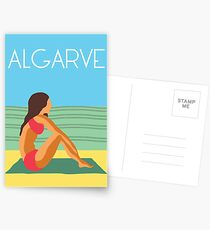 Algarve Praia Postcards