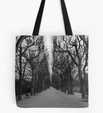 Converging Tote Bag